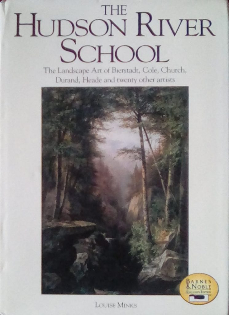 The cover of The Hudson River School book