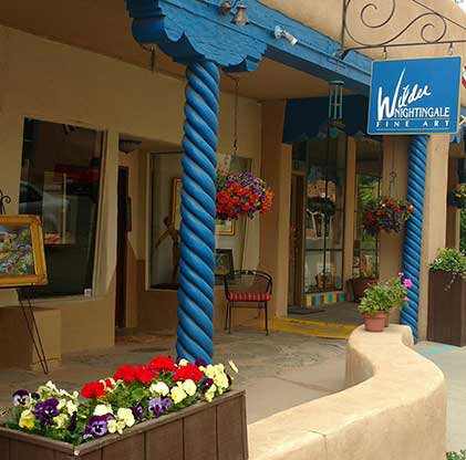 Wilder Nightingale Fine Art Gallery in Taos, New Mexico